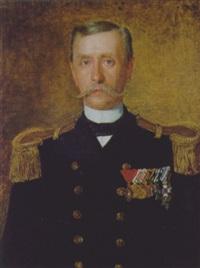 portrait eines admirals by johann michael kupfer