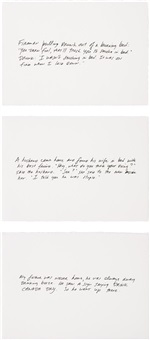 untitled (set of 3) by richard prince