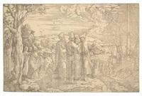 christ preaching by jan swart van groningen