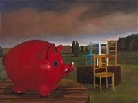 $2 piggy bank by david keeling
