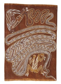 kunapipi (sacred and secret) by yirawala