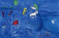 spring (from daphnis and chloe) by marc chagall