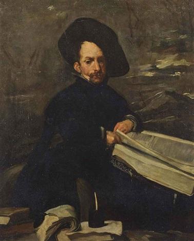 portrait of the jester diego de acedo called el primo by diego rodríguez de silva y velásquez