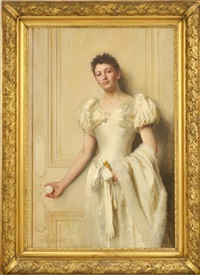 portrait of rebecca by william ewart lockhart