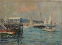 the yacht club by edward cucuel