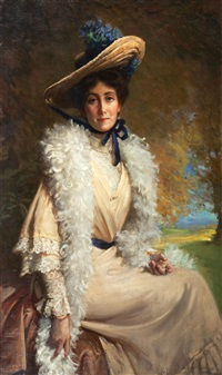 mrs walter frith by george percy r. e. jacomb-hood