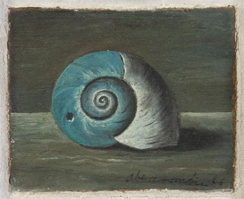 untitled snail by gertrude abercrombie