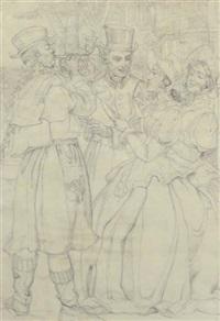 the carol singers by noel laura bush