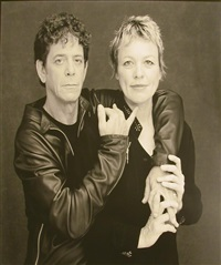 lou reed and laurie andersson by timothy greenfield-sanders