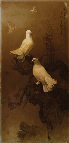 doves by lee man fong