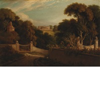 estate in england (priory park) by john vanderlyn
