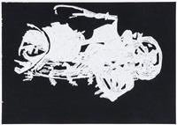 h.2.n.y (two drawings) by michael landy