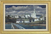 uncle tim's bridge, wellfleet by frank milby