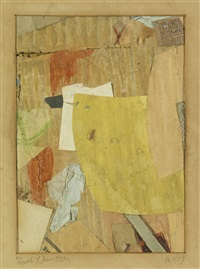 ohne titel (he) (untitled (he)) by kurt schwitters