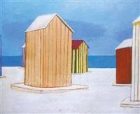 carpas en la playa by joaquin pacheco