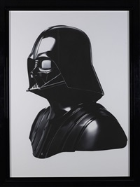 darth vader, original helmet, new york city by albert watson