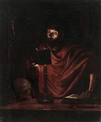 saint jérôme by georges de latour