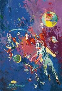 football star constellation by leroy neiman