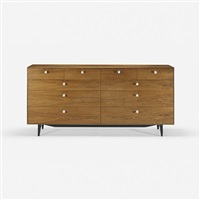 thin edge cabinet, model 5723 by george nelson & associates