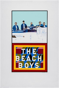 the beachboys (from the institute of contemporary arts portfolio) by peter blake