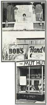 photem series i, #1 (bob's hand) by robert rauschenberg