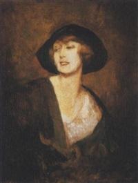 signora elegante by lino selvatico