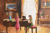 piano lesson by lorna millar