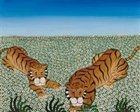two tigers by yannis amoryanos