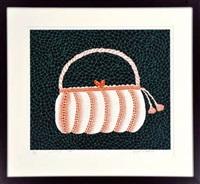 handbag by yayoi kusama
