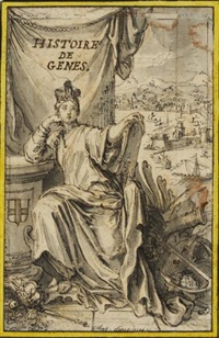 histoire de gênes (project for a frontispiece) by antoine dieu
