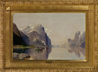 am hardangerfjord, norwegen (sommerlandschaft) by fritz chwala