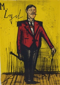 monsieur loyal by bernard buffet