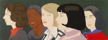 five women by alex katz