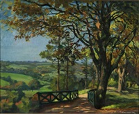 english landscape by max hofler