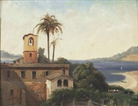 la baie de vietri et salerne by vincenzo franceschini