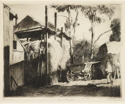 fishermans hut by daniel garber