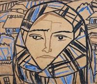 portrait de femme by tatiana yablonskaya