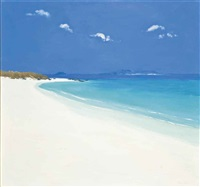island beach, tresco by john miller