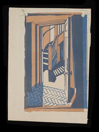doorway (9 works) by guy seymour warre malet