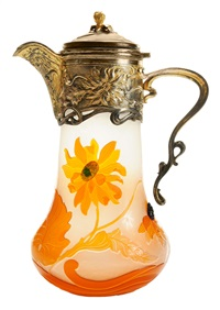 ewer by émile gallé