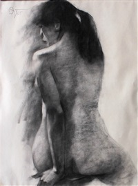female nude by romulo olazo