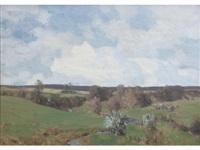 west coast landscape by george houston