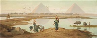 the waters of the nile by frederick goodall
