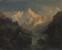 scorcio delle alpi bernesi by alexandre calame