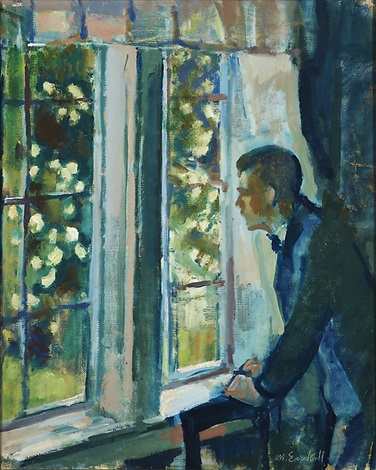 by the window by magnus enckell