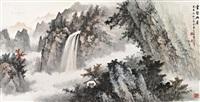云壑幽居 by huang junbi