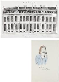 miss iceland (+ untitled (chateau), 1994; 2 works) by karen kilimnik