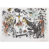 l'artiste et thèmes bibliques/the artist and biblical themes by marc chagall