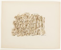 untitled (brown) by norman lewis