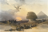selected plates (26 works from egypt and nubia) by david roberts